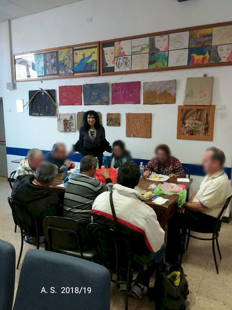 classe durante l' Attività Curricolare (mattina) di Formazione Didattica del mercoledì