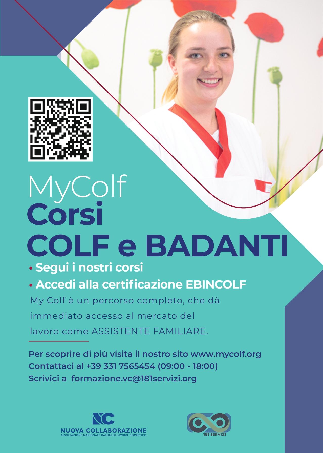 Corso Colf e Badanti  - Vercelli