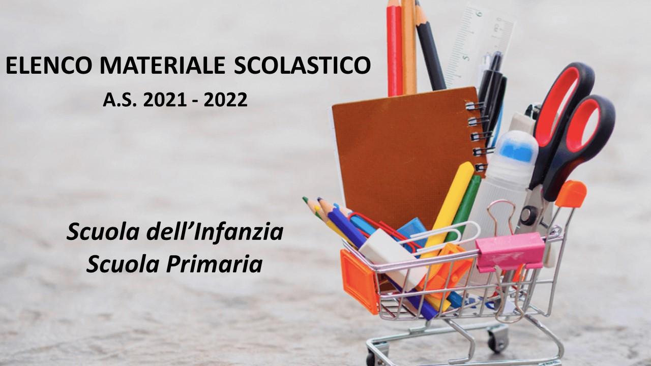 Logo Elenco Materiale Scolastico 2021-2022bozza3