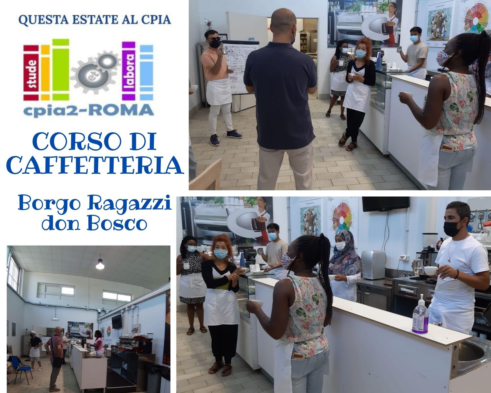 CORSO DI CAFFETTERIA Borgo Don Bosco