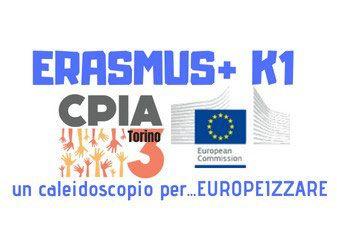 Logo Progetto Erasmus K1 Cpia3 Torino 2016